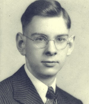 Bill Porter quando jovem