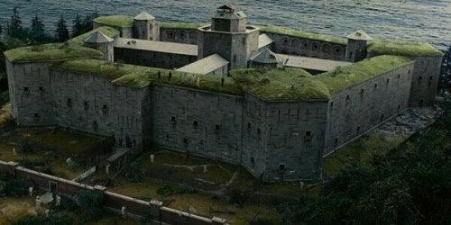 Fortaleza do filme 'Ilha do Medo'