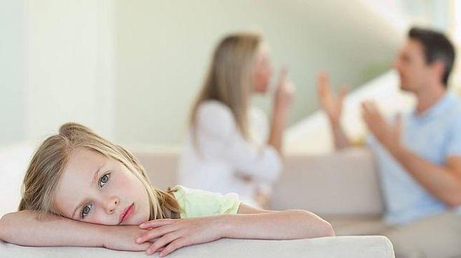 Os filhos são afetados pelas discussões dos pais