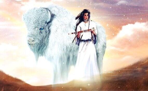 A mulher do búfalo branco, uma maravilhosa lenda dos índios americanos