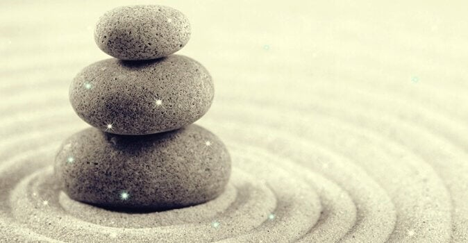 Pedras simbolizando equilíbrio