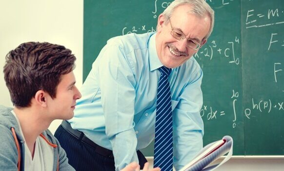 Professores, o conteúdo da matéria não é a única coisa importante