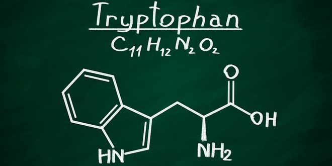 Fórmula do triptofano