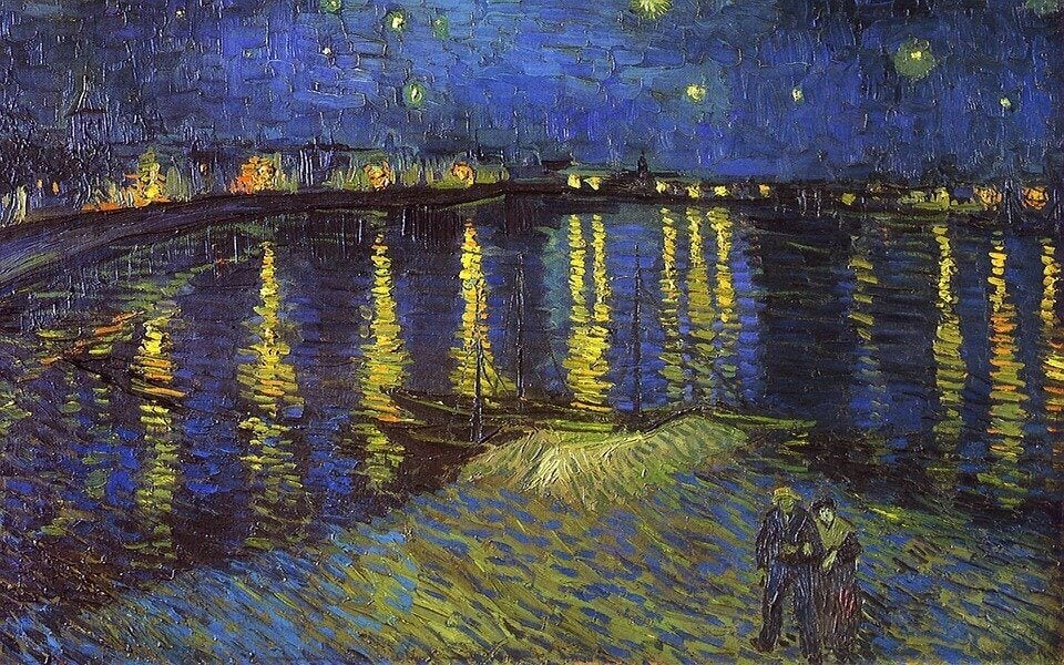 A noite estrelada, de Vincent Van Gogh