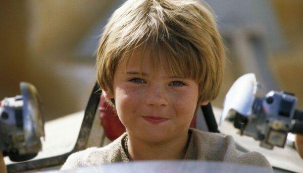 Anakin Skywalker na infância