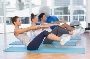 Exercícios de pilates para iniciantes