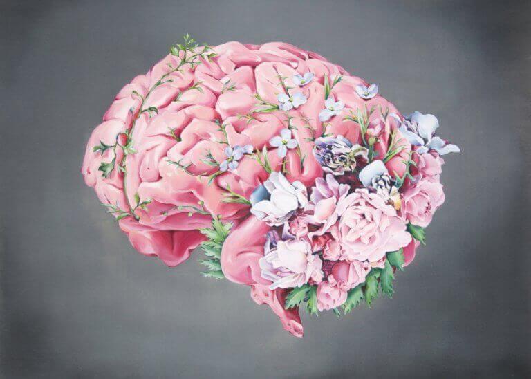 Cérebro florido