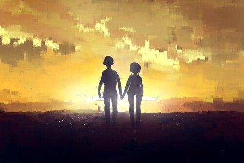 O início de uma história de amor