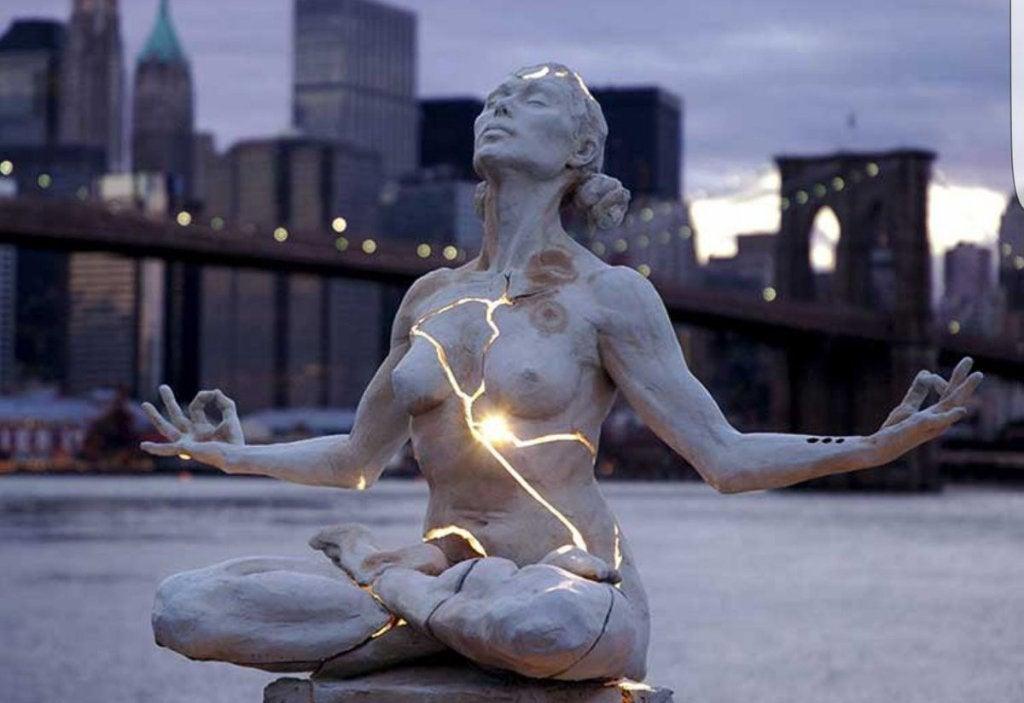 Escultura para apreciar emoções estéticas
