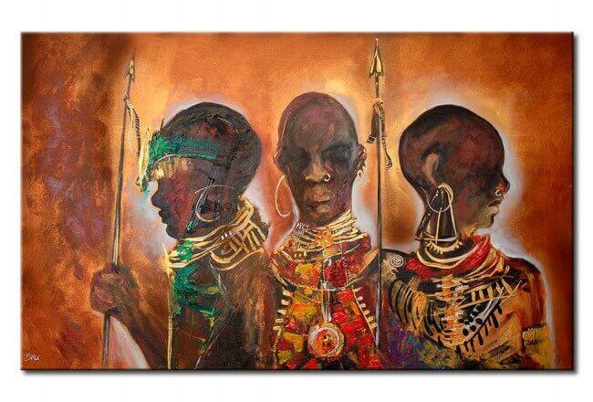 Caçadores africanos