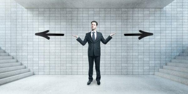 Dois caminhos a escolher