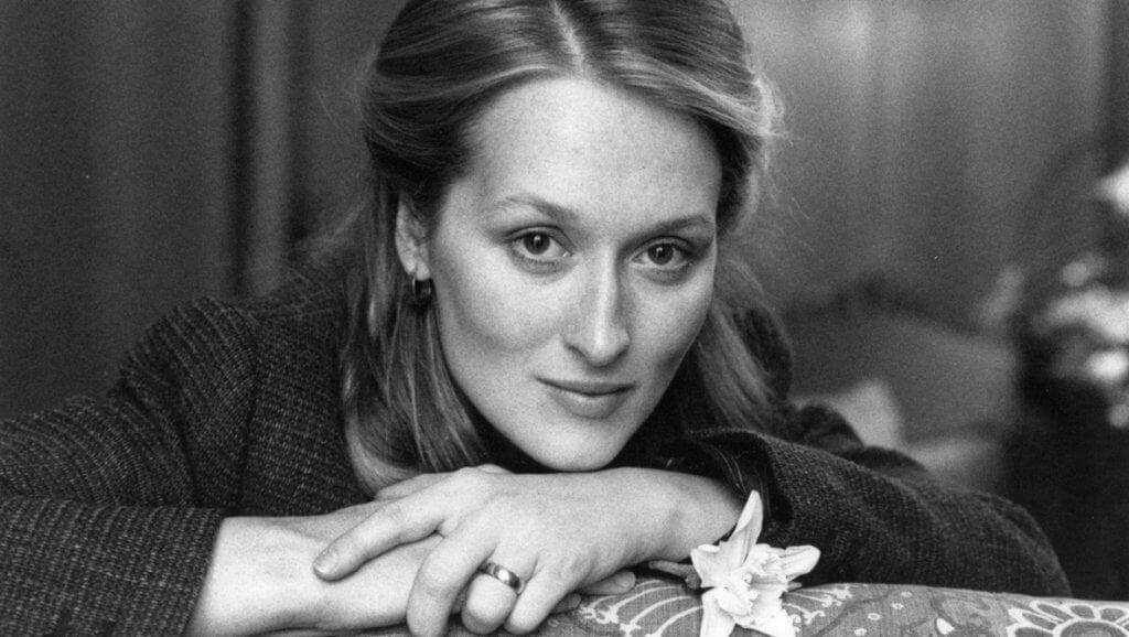 Meryl Streep quando jovem