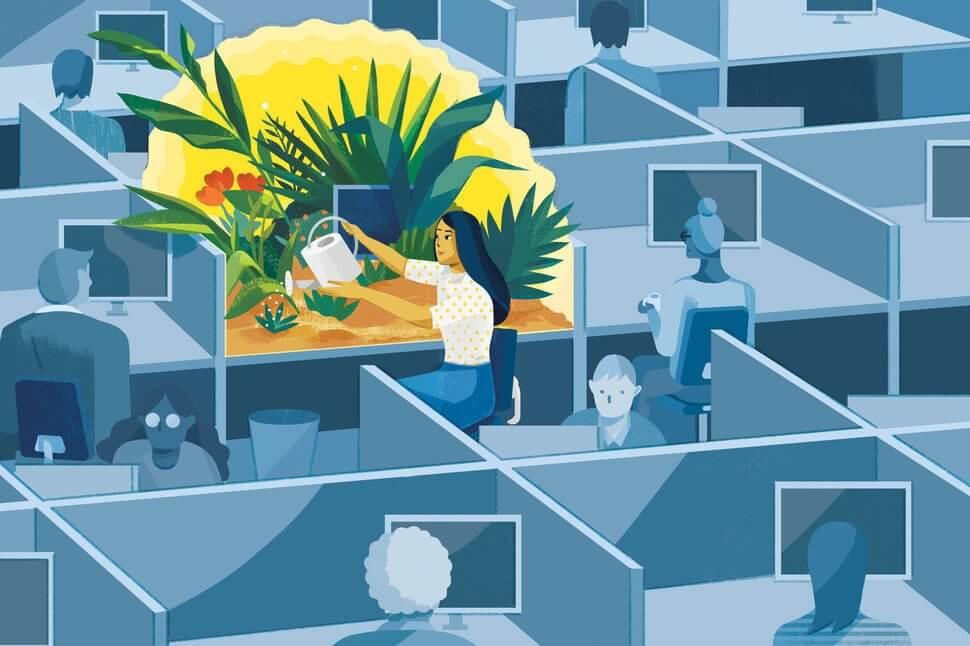 Mindfulness no trabalho: saúde e bem-estar
