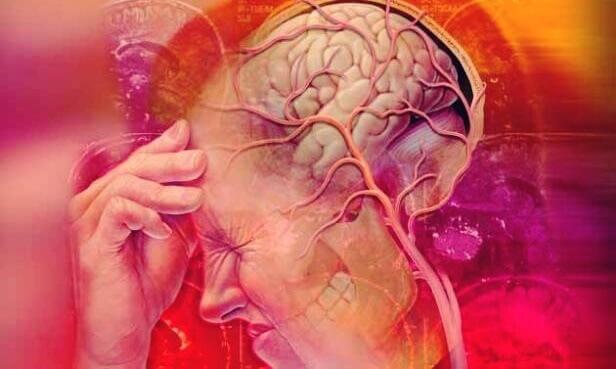 Dor causada pela neuralgia do trigêmeo