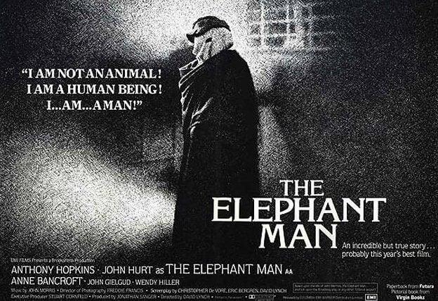Pôster do filme 'O Homem Elefante'