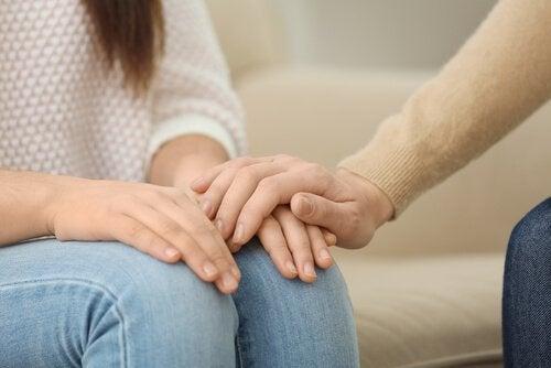 Apoio emocional na terapia