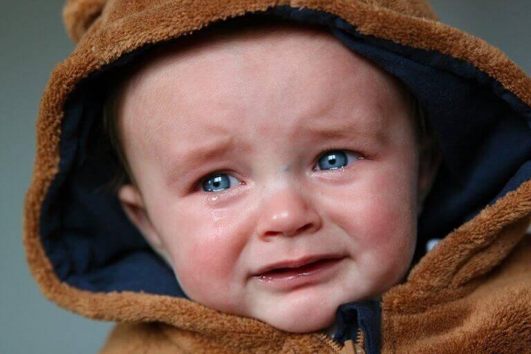 Bebê chorando