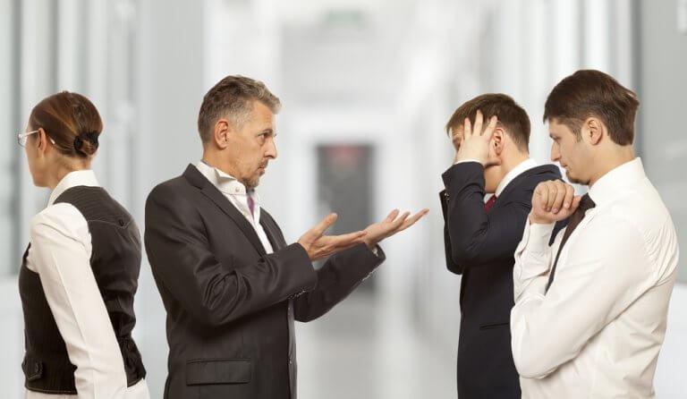 Conflitos no trabalho
