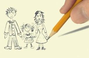 Teste do desenho da família, uma interessante técnica de projeção