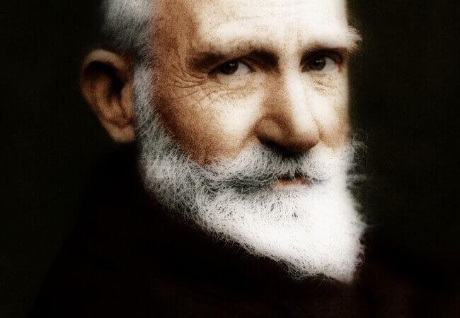 7 frases espirituosas de George Bernard Shaw