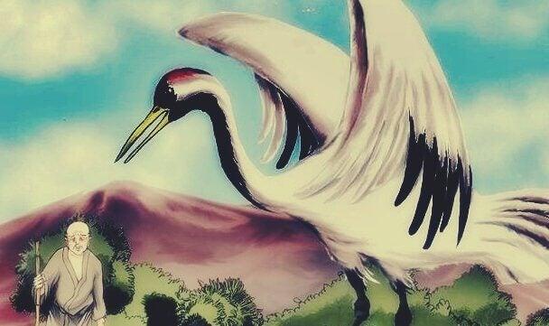 A história do sábio e do pássaro