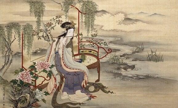 A dança dos gênios da floresta, uma bela fábula japonesa