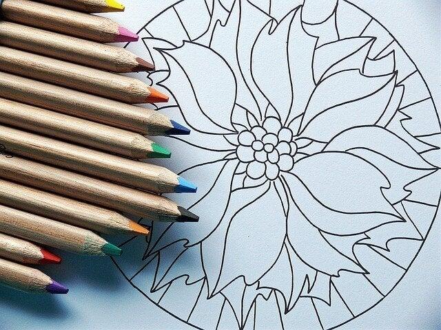 Colorir mandalas