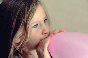 Técnica do balão para favorecer o relaxamento das crianças