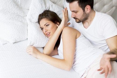 Quando o desejo sexual da mulher desaparece