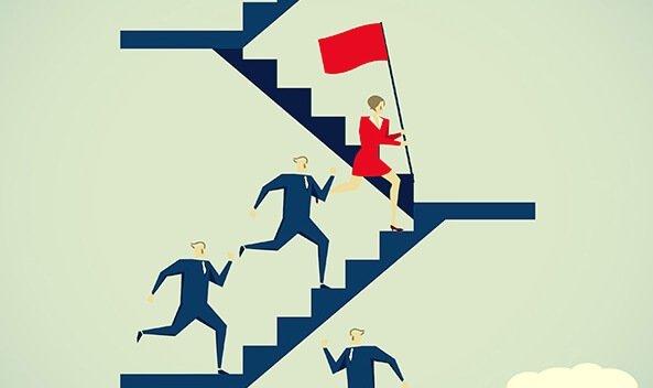 Mulheres liderando no trabalho