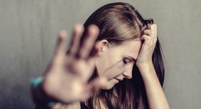 Mulher maltratada