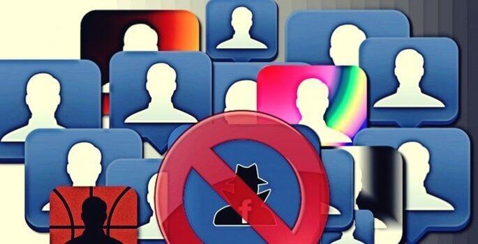 Bloquear pessoas nas redes sociais