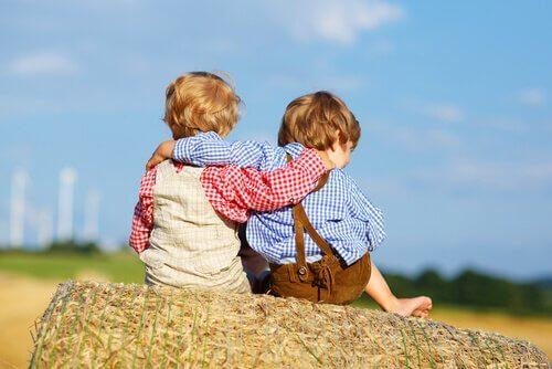 A amizade na infância