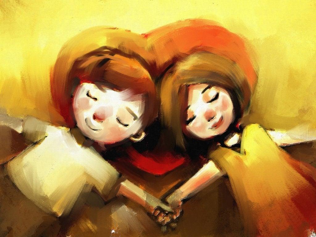 Casal apaixonado