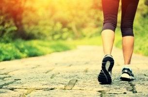 Benefícios de caminhar