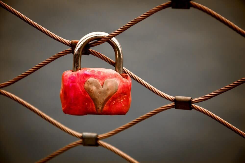 Cadeado com coração