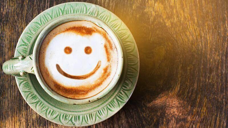Café com um sorriso