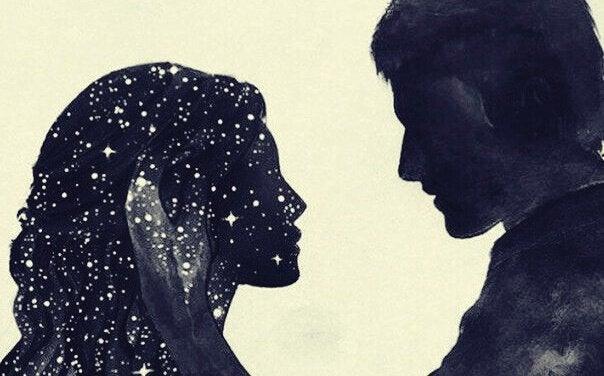 Casal com estrelas