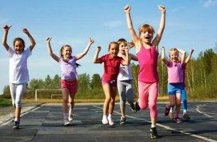 A importância do esporte na infância