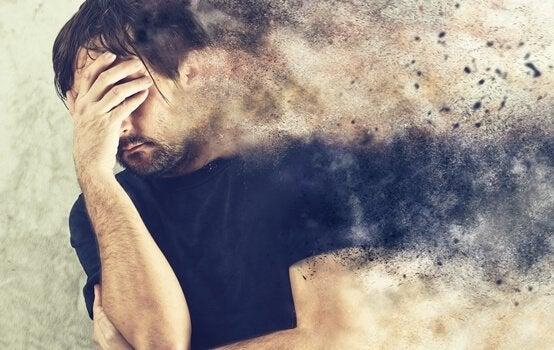 Presença da angústia emocional