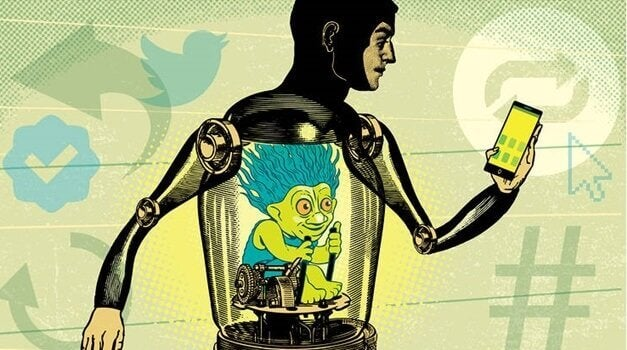 Os trolls, uma forma de agressão cotidiana
