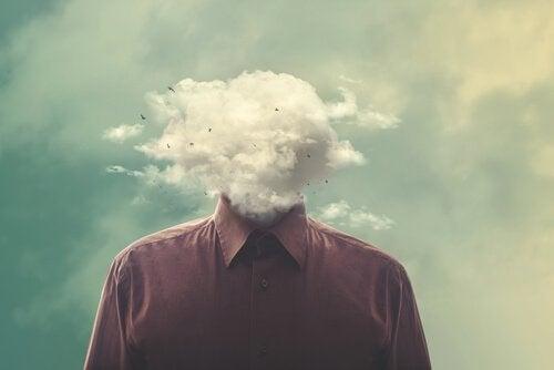 Os pensamentos podem causar mal-estar