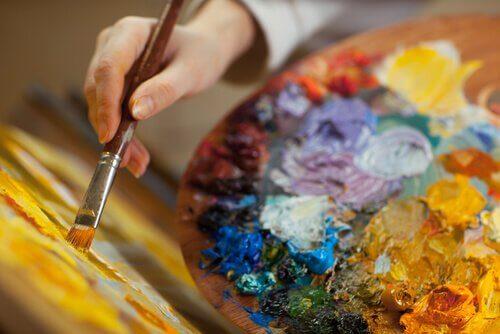 A criatividade na pintura