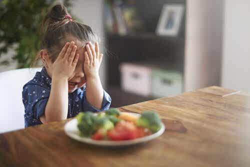 O que é a neofobia alimentar?