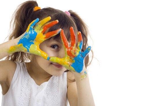 Exercícios de arteterapia para crianças