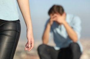 O luto pela separação do casal