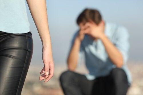 O luto pela separação de um casal