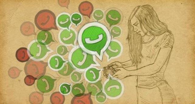 Vício em WhatsApp