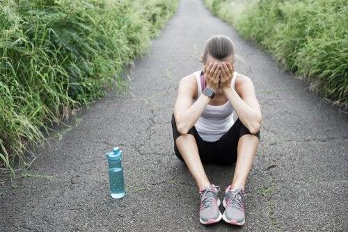 A síndrome do excesso de treinamento