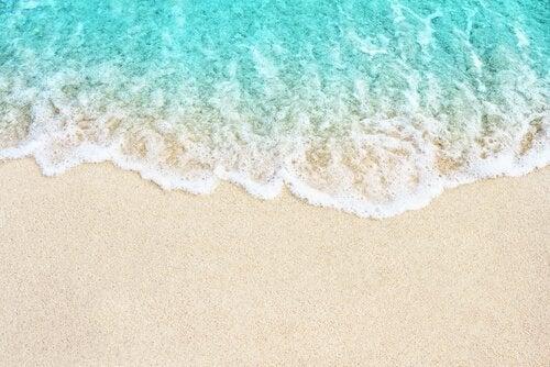 A metáfora das ondas na praia